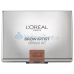 L'Oréal Paris Brow Artist Genius Kit 3,5g - Light To Medium