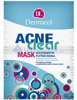 Dermacol Dermaclear Mask 16g W