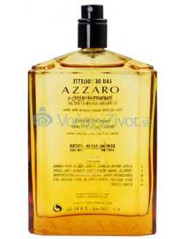 Azzaro Pour Homme Eau De Toilette - tester 100 ml (man)