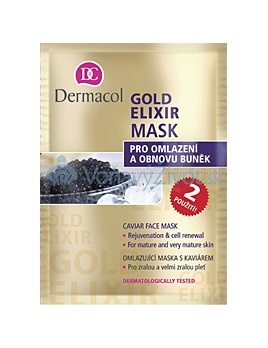 Dermacol Gold Elixir Mask 16ml