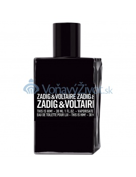 Zadig & Voltaire This Is Him! M EDT 100ml TESTER
